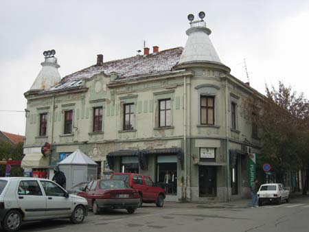 Old Serbian town house