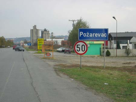 Pozarevac city limit
